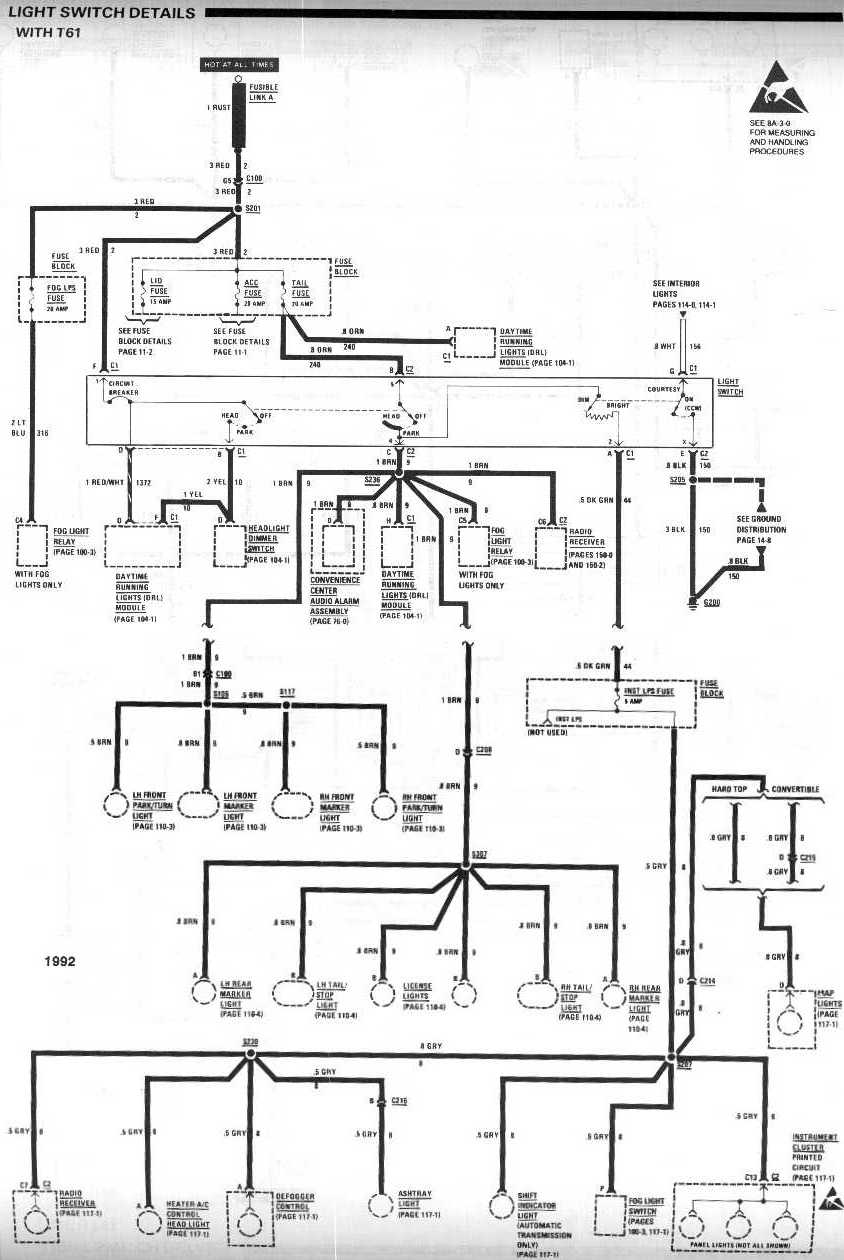 Basic Backup Light Wiring Diagram Switch With T61