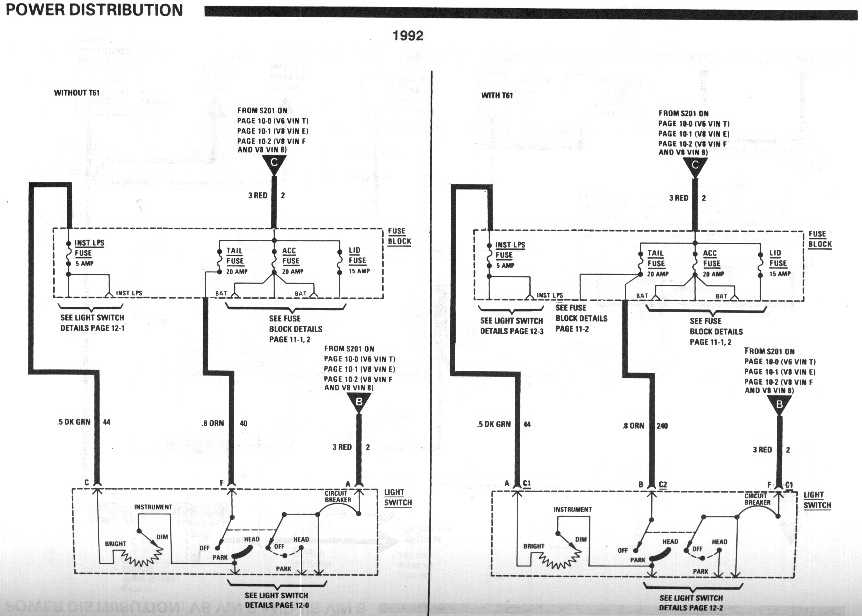 1992 camaro wiring diagram alternator