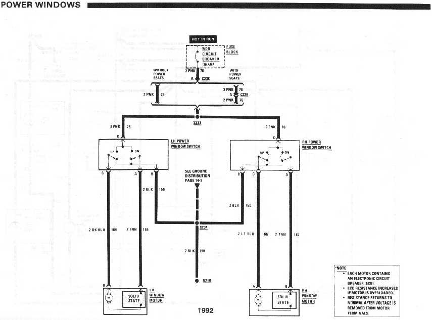 diagram_1992_power_windows wiring custom window switches third generation f body message boards aftermarket power window switch wiring diagram at bayanpartner.co